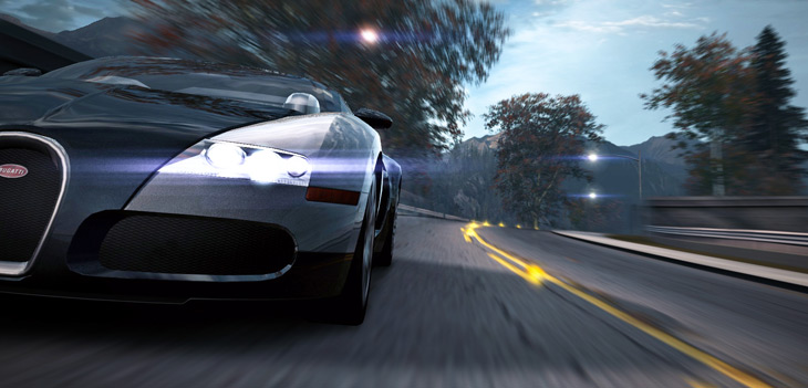 news need for speed world the bugatti veyron 16 4 sophistication speed a. Black Bedroom Furniture Sets. Home Design Ideas
